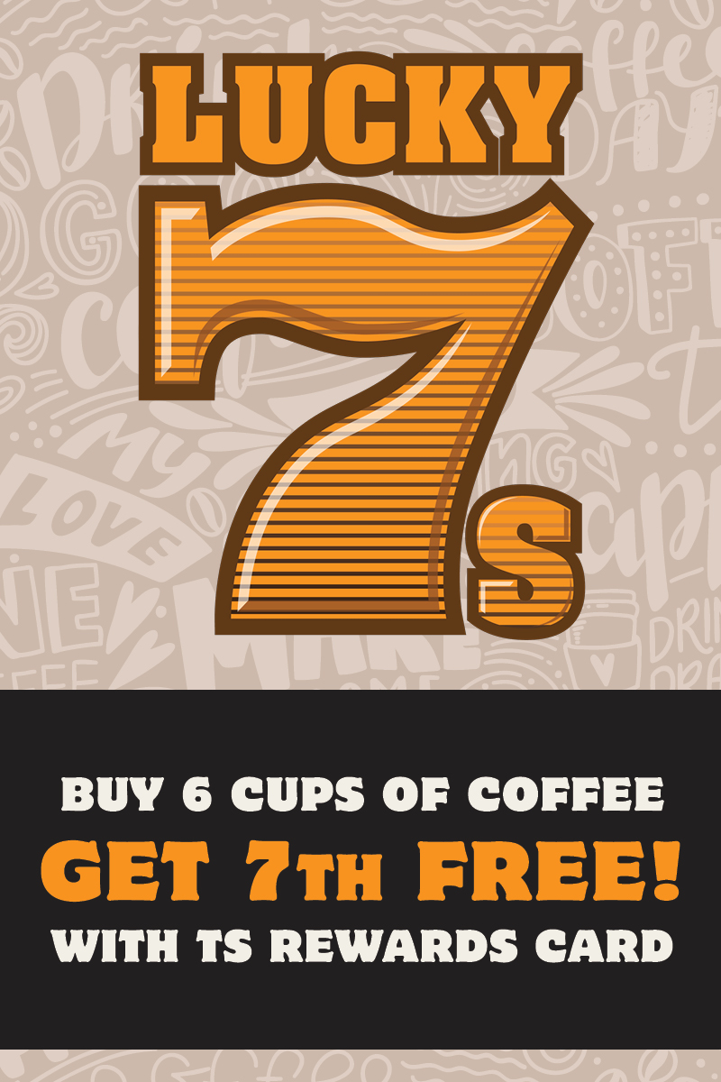 Lucky 7s Coffee Deal